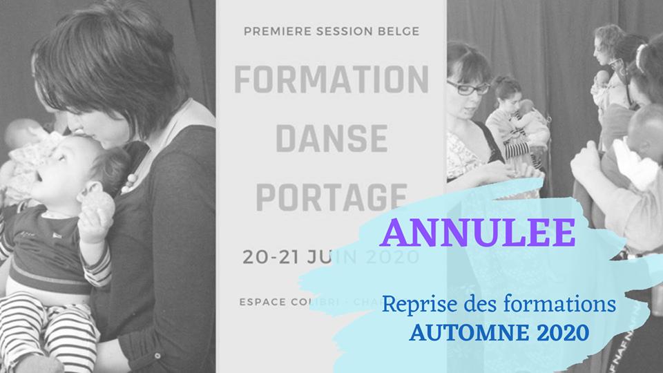 Annulée // Formation danse portage -  module 1 (Belgique)
