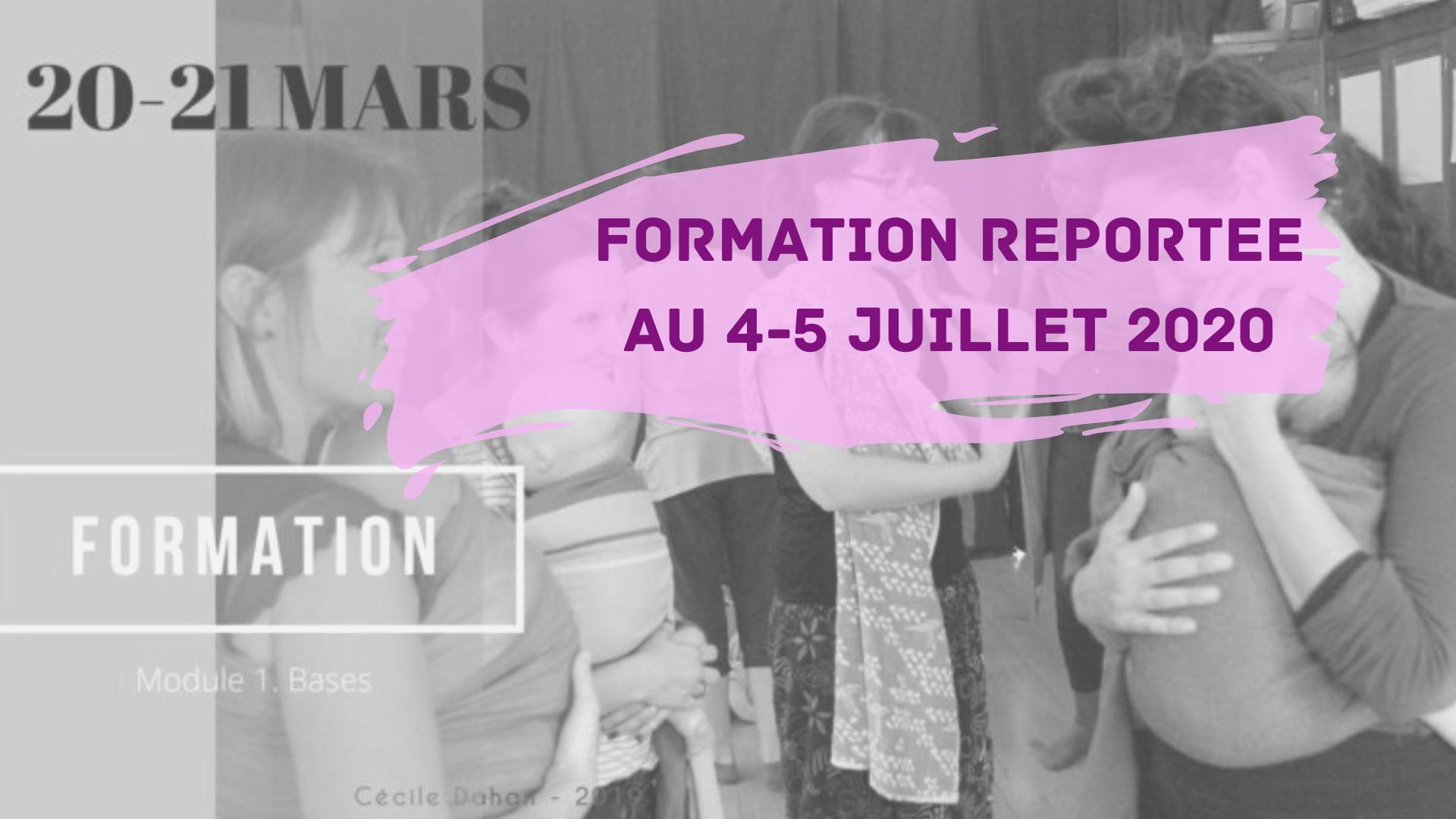 REPORT // Formation danse portage -  module 1 (IDF)