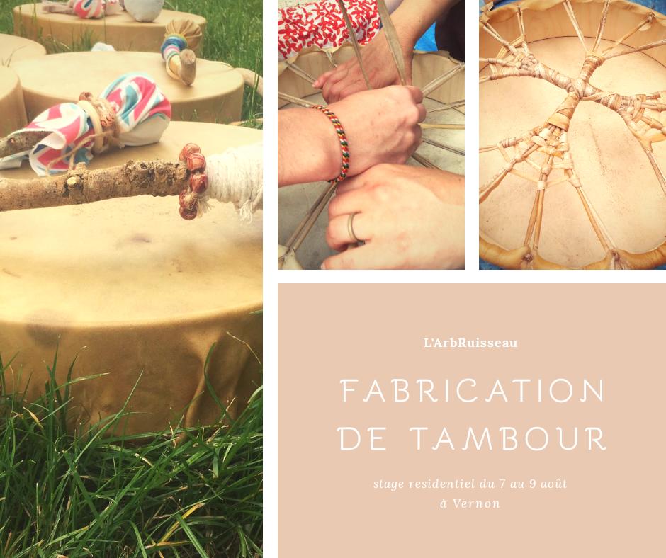 Fabrication du Tambour