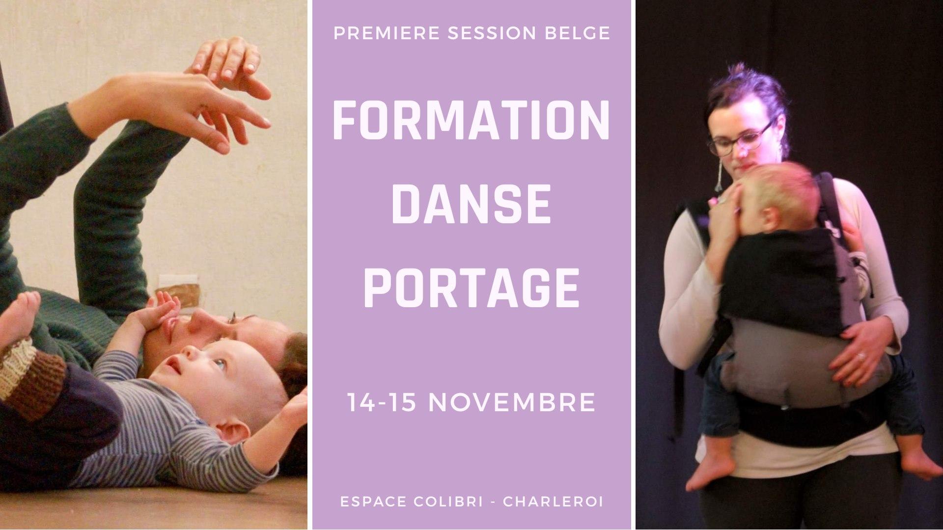 Formation danse portage -  module 1 Belgique